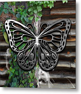 Butterfly Collection Metal Print by Marvin Blaine