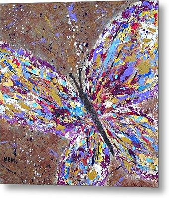 Butterfly Magic Metal Print