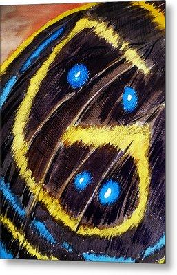 Butterfly Wing Metal Print by Irina Sztukowski