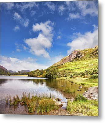 Metal Print featuring the photograph Buttermere, English Lake District by Colin and Linda McKie