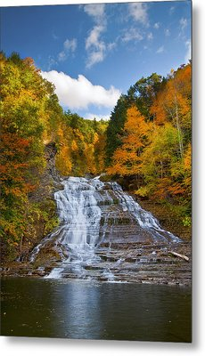 Buttermilk Falls 2 Metal Print by Mark Papke