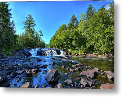 Buttermilk Falls Metal Print by David Patterson