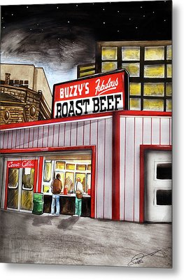 Buzzy's Fabulous Roast Beef Metal Print by Dave Olsen