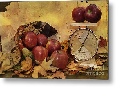 By The Pound Metal Print by Kathy Jennings