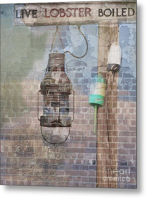By The Sea In Color Metal Print by Betty LaRue