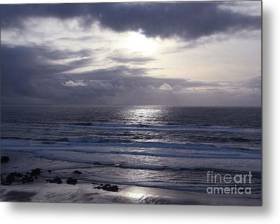 By The Silvery Light Metal Print