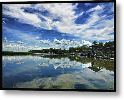 By The Still River Metal Print