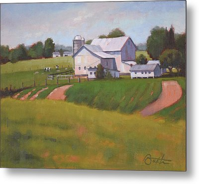 Byler Farm Metal Print by Todd Baxter