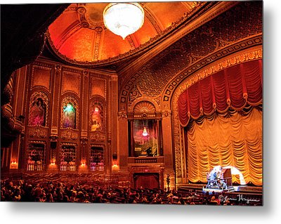 Byrd Theatre Organist II Metal Print