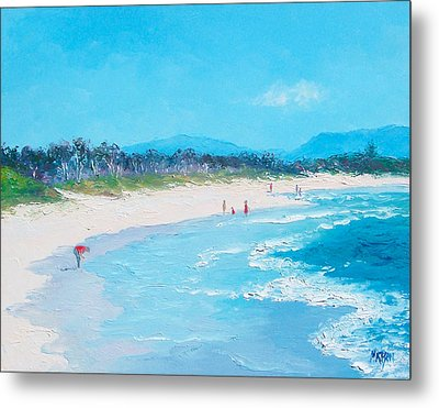 Byron Bay Morning By Jan Matson Metal Print