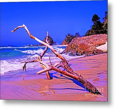 Byron Beach Australia Metal Print by Chris Smith