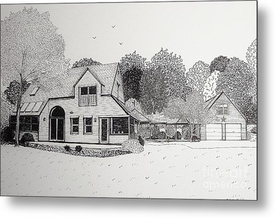 C And P's House  Metal Print