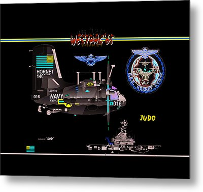 C1-a Trader Metal Print by Mike Ray