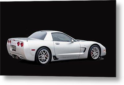 C6 Corvette Metal Print