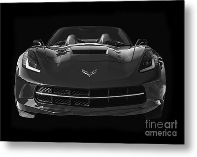 C7 Stingray Corvette Metal Print
