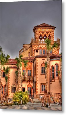 Ca Dzan Mansion South Metal Print