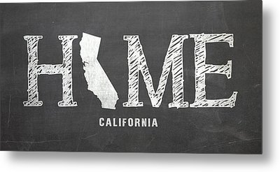 Ca Home Metal Print