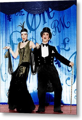 Cabaret, From Left Liza Minnelli, Joel Metal Print by Everett