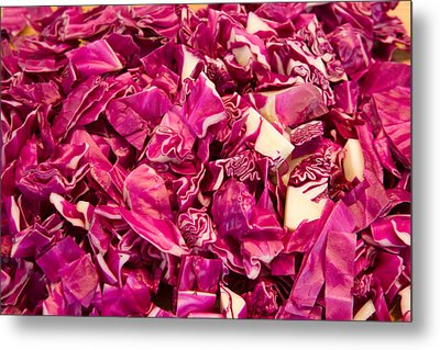 Cabbage 639 Metal Print