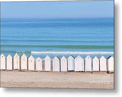 Metal Print featuring the photograph Cabins by Delphimages Photo Creations