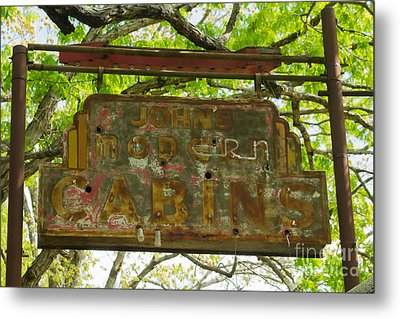 Cabins No More Metal Print by Scott Nelson