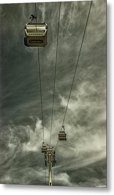 Cable Car Metal Print by Martin Newman