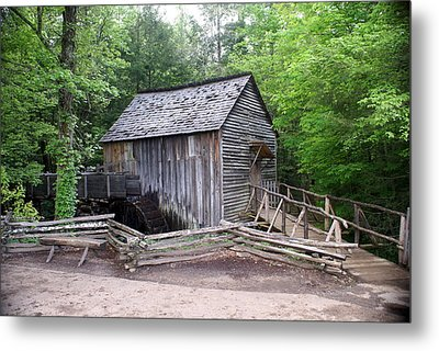 Cable Mill Metal Print by Marty Koch