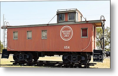 Metal Print featuring the photograph Caboose by Ray Shrewsberry