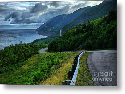 Cabot Trail Metal Print by Joe  Ng