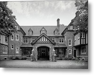 Cabrini College The Mansion Metal Print by University Icons