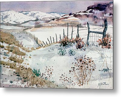Cache Valley Meadows  Metal Print by Donald Maier