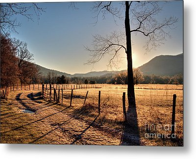 Metal Print featuring the photograph Cades Cove, Spring 2017,i by Douglas Stucky