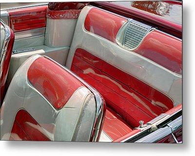 Cadillac El Dorado 1958 Seats. Miami Metal Print
