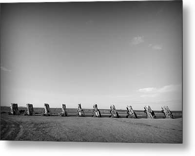 Cadillac Ranch 4 Metal Print