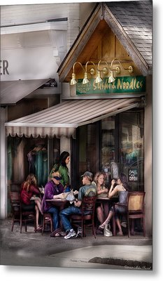 Cafe - Westfield Nj - Gabi's Sushi And Noodles Metal Print by Mike Savad