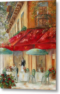 Cafe' Paris Metal Print