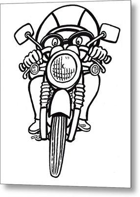 Cafe Racer 2 Metal Print
