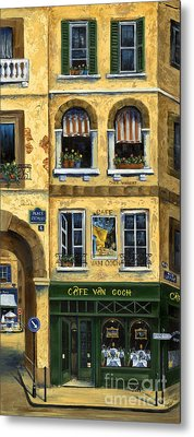 Cafe Van Gogh Paris Metal Print