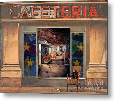 Cafeteria Metal Print by Mojo Mendiola