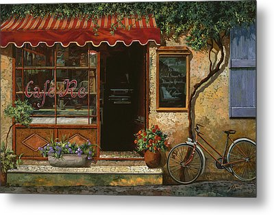 caffe Re Metal Print by Guido Borelli