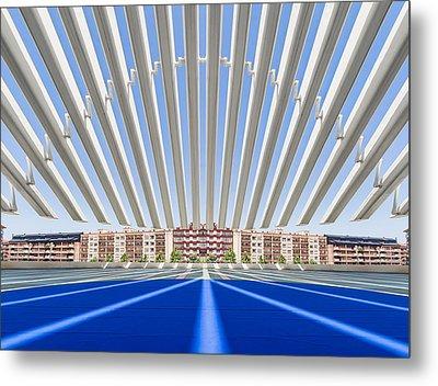Calatrava Congress Centre / Oviedo Metal Print by Herbert A. Franke