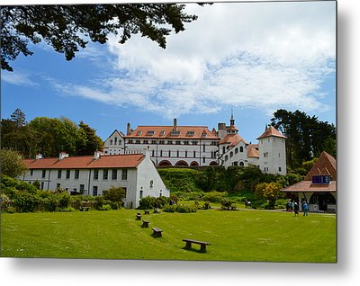 Calday's Celtic Monastery Metal Print by Mr Snappy