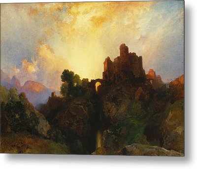 Caledonia Metal Print by Thomas Moran