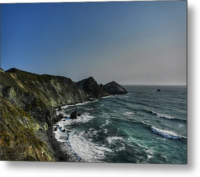 California - Big Sur 008 Metal Print by Lance Vaughn