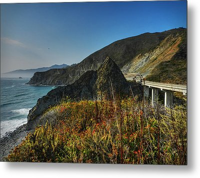 California - Big Sur 011 Metal Print by Lance Vaughn
