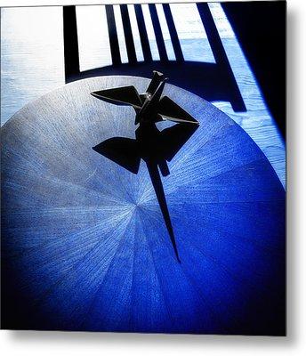 Metal Print featuring the photograph California Blue by Wayne Sherriff