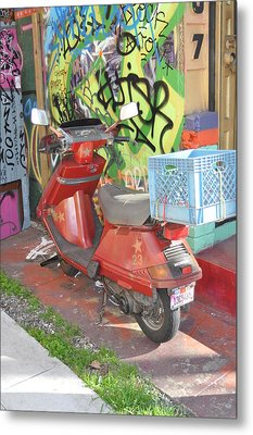 California Colors Metal Print