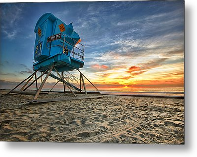 California Dreaming Metal Print by Larry Marshall