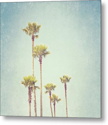 California Dreaming - Palm Tree Print Metal Print by Melanie Alexandra Price
