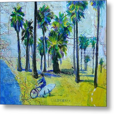 California Dreaming Metal Print by Tilly Strauss